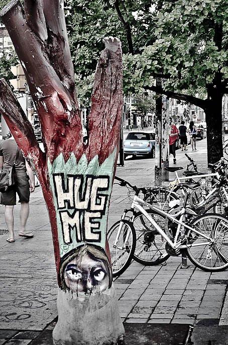 Hug me tree